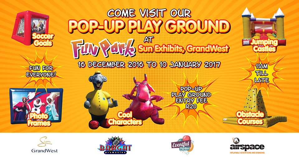 GrandWest Pop-Up Playground