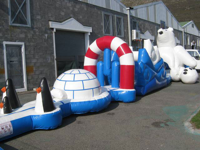 North Pole Obstacle Course