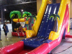 Gaming Jump and Slide: Front