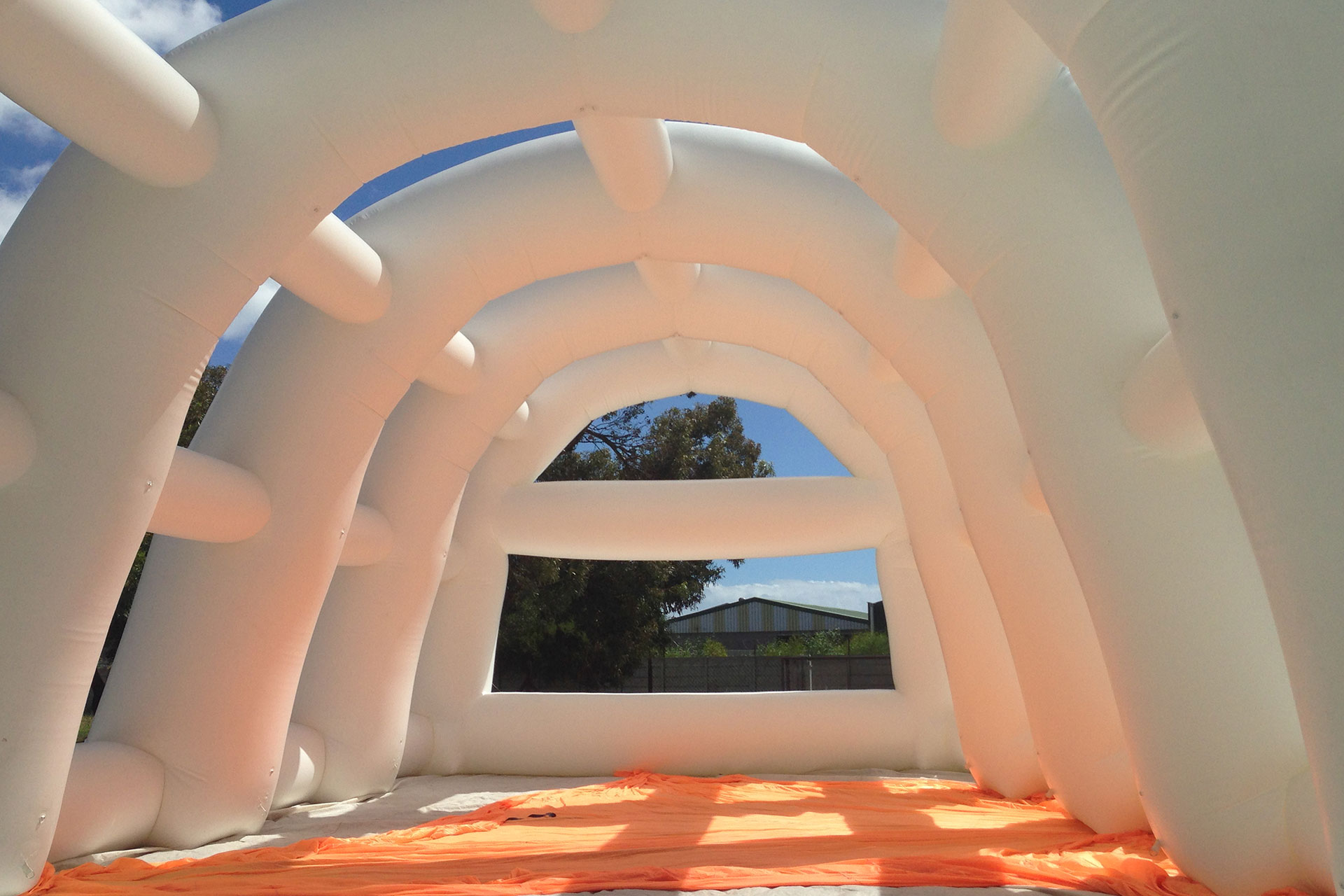 We design and manufacture giant inflatables