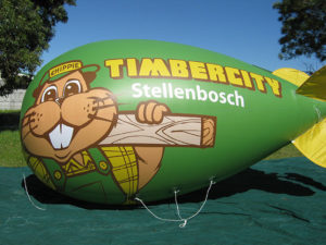 Inflatables have high impact and visibility