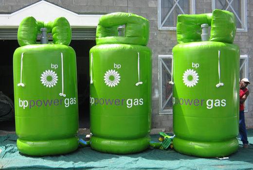 BP Gas bottles