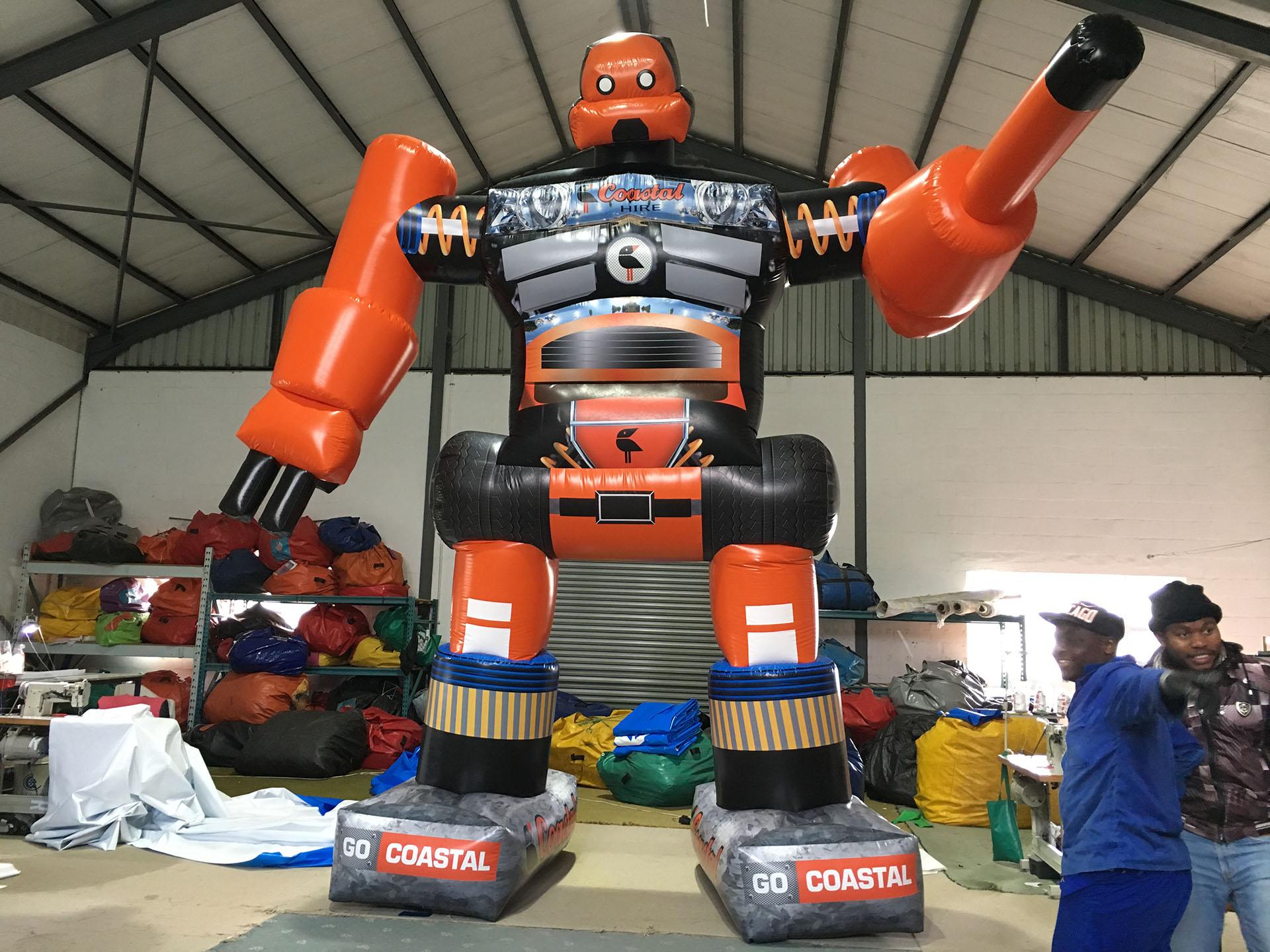 Coastal Hire Robot