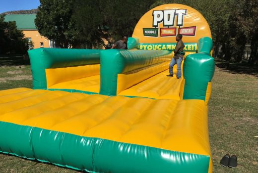 Pot Noodle Bungee Run