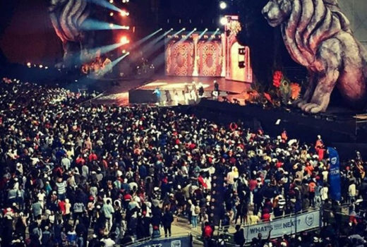 #FILLUP FNB STADIUM CONCERT 2017, JOBURG, SOUTH AFRICA