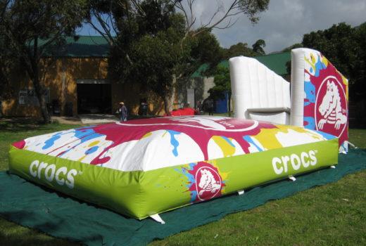 Crocs Jumping Castle