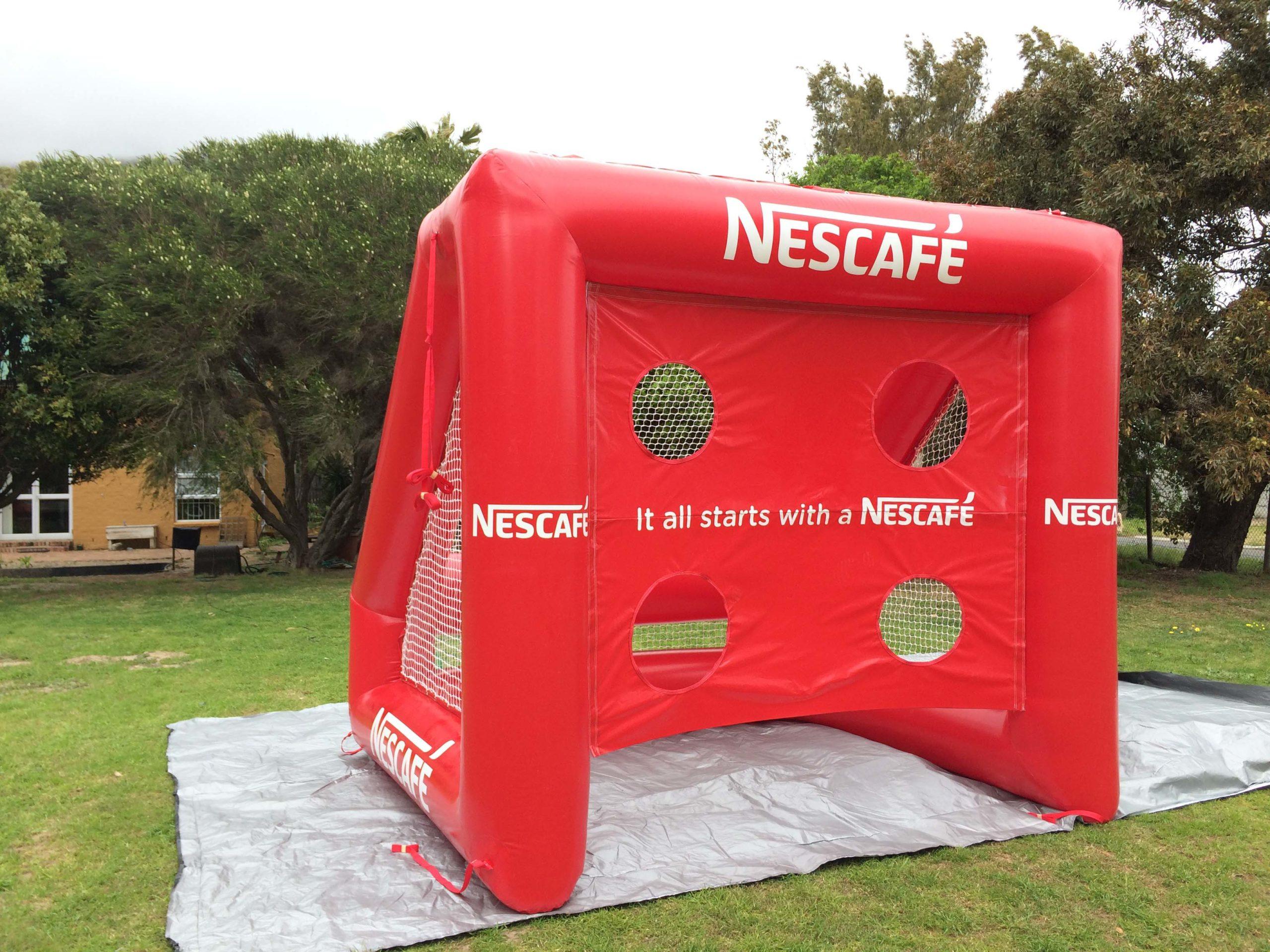 Nescafe Soccer Goal