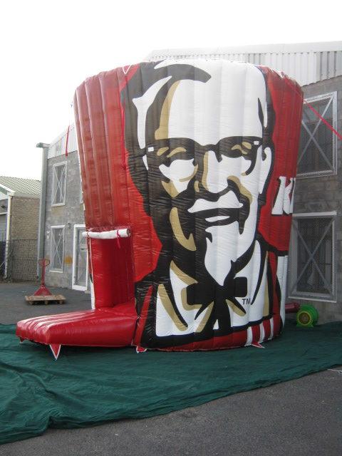 KFC Jumping Castle