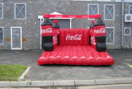 Coke Jumping Castle