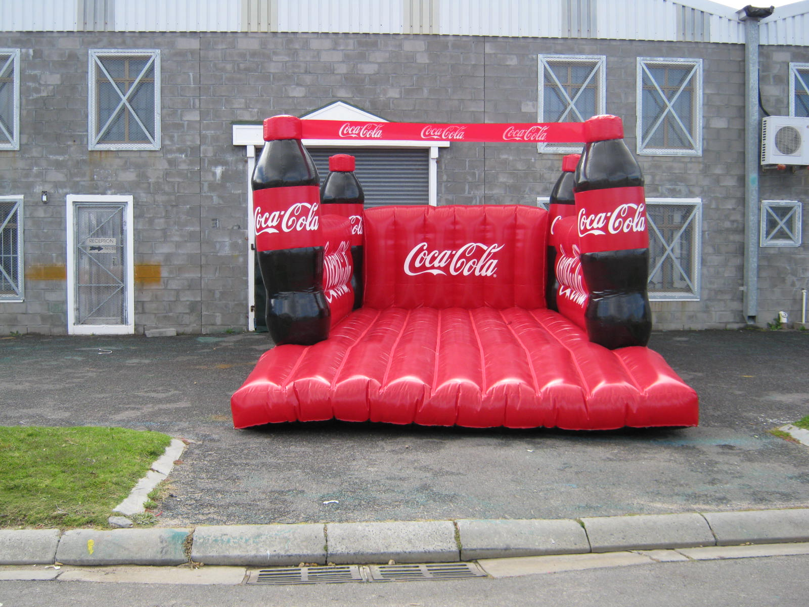 Coke Jumping Castle