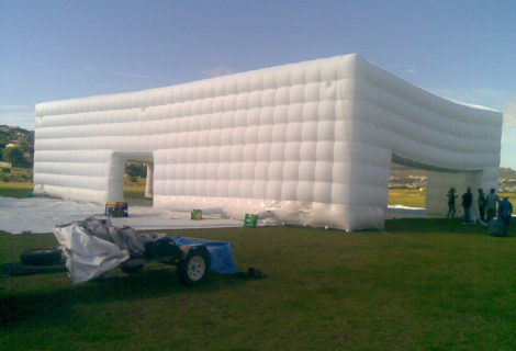 Inflate Large Structure