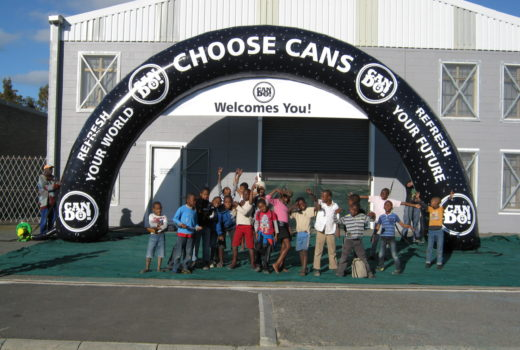 Choose Cans Arch